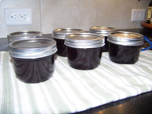 Cherry Blackberry jam