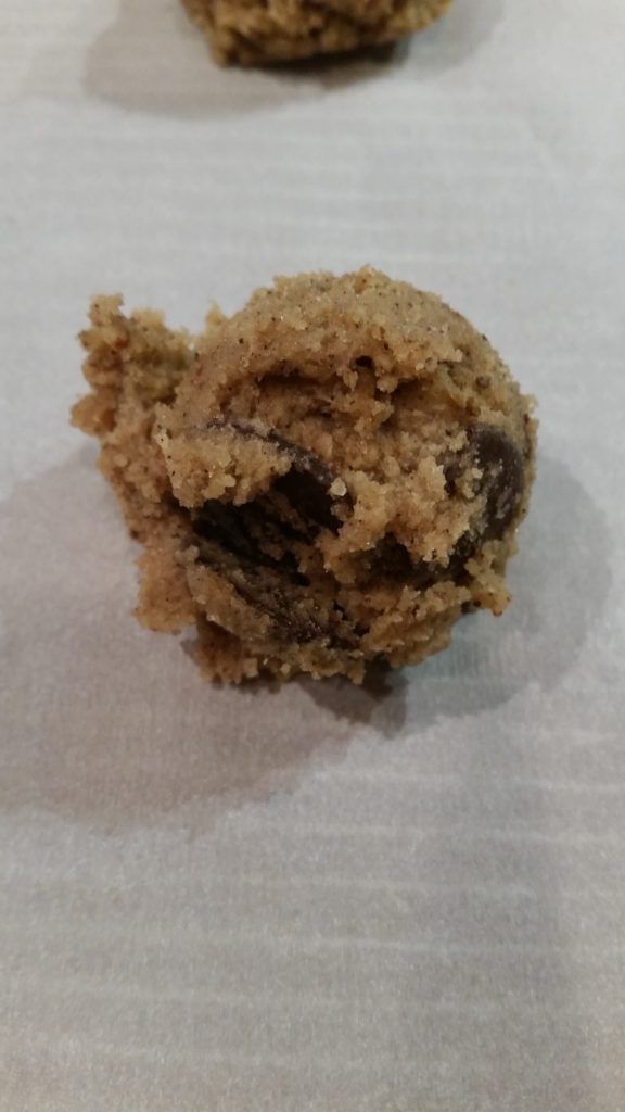 Unbaked cookie